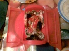 Rape a la marinera | Recetas de pescado | Recetas Lékué Tupperware, Us Foods, Plastic Cutting Board, Cooking Recipes, Meat, Chicken, Kitchen, Steamer Recipes, Kitchen Gadgets