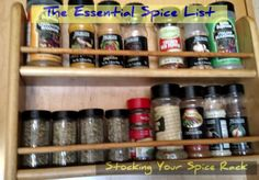 Essential Spice List | Healthy Urban Cooking