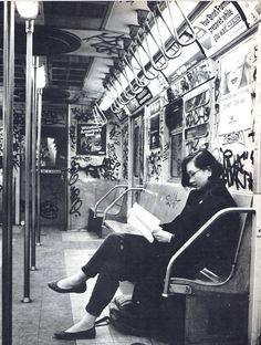 New York City Subway 1985