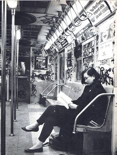 New York City Subway 1985