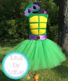 TMNT/Teenage Mutant Ninja Turtles Tutu Dress by TutusbyLafue, $45.00