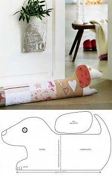 Подушка от сквозняка | Подружки