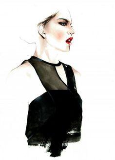 Fashion Illustrations by Antonio Soares - 15 - Pelfind