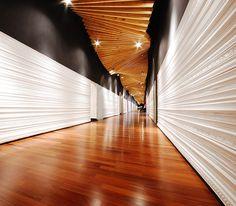 CASACOR 2008, Panama - Bettis Tarazi #interiordesign #interiors #ceiling #design #infinite #corridor #architecture