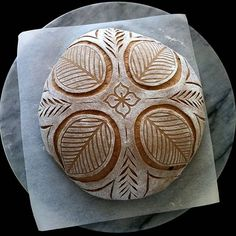 Pre-bake pic of my first Black Bread from 'Toast & Jam'. Was curious but slightly dubious about the combination of molasses,… Sourdough Recipes, Sourdough Bread, Bread Recipes, Bread Art, Artisan Bread, Food Staples, Bread Baking, How To Make Bread, Food Art
