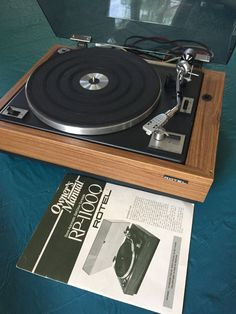 Vintage Rotel RP-1100Q turntable belt drive