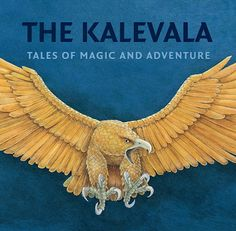 """""""The Kalevala is a work of epic poetry compiled by Elias Lönnrot from Finnish and Karelian oral folklore and mythology. It is regarded as the national epic of Finland and is one of the most significant works of Finnish literature. I Love Books, Books To Read, My Books, Finnish Words, Finnish Language, February Holidays, Book Writer, My Heritage, Gods And Goddesses"""