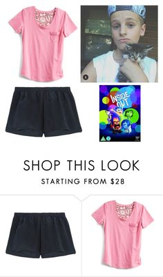 """""""sleepover with mark"""" by haleybarone ❤ liked on Polyvore featuring Araks and Vera Bradley"""