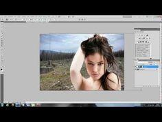 ▶ Objekte schnell freistellen/ ausschneiden (maskierungsmodus) - Photoshop Tutorial - YouTube