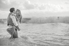 hard rock punta cana wedding. {isabella + luke} intimate portraits. trash the dress. sunrise.