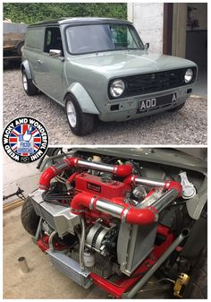 Keeping it commercial on #TurboTuesday check out this stunning ClubVan build. Just how cool is that engine bay? I proper Love it