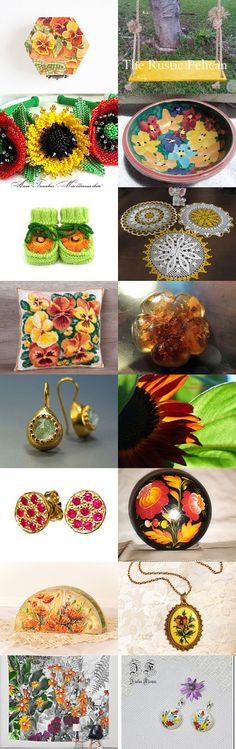Flowers! by Chris on Etsy--Pinned+with+TreasuryPin.com
