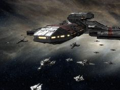 "spaceships | This is hi-res image. Right click on it, then select ""Set as Wallpaper ..."
