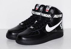 outlet store e9ab8 1062f 2015 Nike Af1 Air Force 1 High X Supreme Hi SP Shoes Classical Black White  Online Sneakers, Price   94.00 - Air Jordan Shoes, Michael Jordan Shoes
