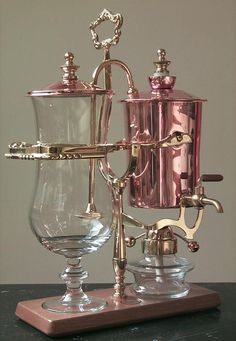 1840 style vacuum coffee makers.