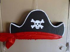 Pirate Hat Pinata by pinatarte1 on Etsy, $26.00