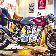 Honda CB by @puzzlegarageroma