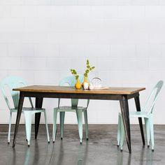 Buy Large Nash Table (Black) Online | Retro, Vintage & Industrial Tables - Retrojan