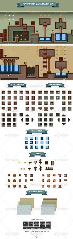 Platformer+Game+Tile+Set+Six
