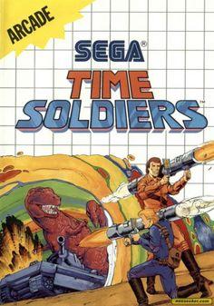 TIME SOLDIERS - SEGA MASTER SYSTEM