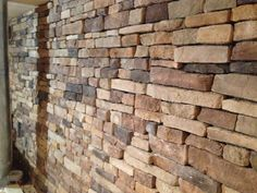 Improve and upgrade your kitchen or fireplace with interior stone veneer installation from the masonry exerts in Pittsburgh, Wichman Landscape! Faux Stone Veneer, Natural Stone Veneer, Landscape Materials, Landscape Design, Bluestone Pavers, Sandstone Wall, Residential Landscaping, Landscape Maintenance, Outdoor Areas