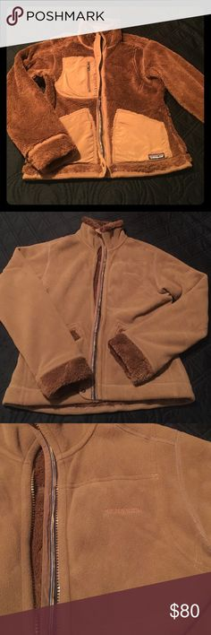 Patagonia reversible jacket Awesome 2 in 1 reversible Patagonia jacket. Excellent condition! Size small. Very warm and super cute too! Patagonia Jackets & Coats