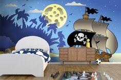 Pirátska loď - fototapeta do detskej izby | DIMEX