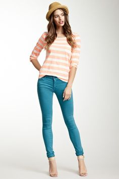 The Looker Low Rise Skinny Jean by MOTHER Denim on @HauteLook