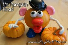 Mr. Pumpkin Head from Loving My Nest