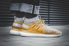 On-Foot: adidas Tubular Nova Primeknit 'Grey & Yellow' - EU Kicks: Sneaker Magazine