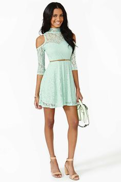 Serendipity Lace Dress | Shop Fit-n-Flare at Nasty Gal