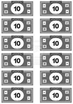 monopoly money template - DriverLayer   Zach 9th birthday ...
