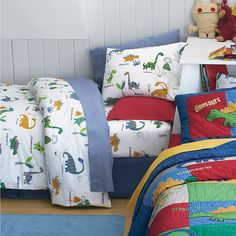 dinosaur bedding by whimsy kids... love... | Gift Ideas ...
