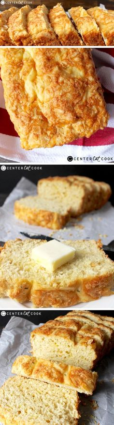 This GARLIC Cheesy BREAD is so quick to make, has tons of flavor, and is so delicious! The perfect side for dinner!