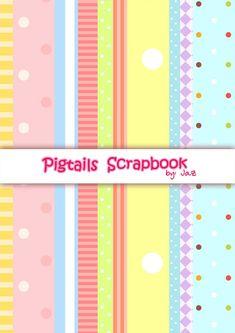 Scrapbook | Pigtails by Jazmin Cruz