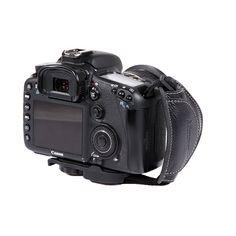 Micnova MQ-GS8 Genuine Leather Grip/Hand Strap for DSLR Cameras (Tripod Mount Attachment) {Style