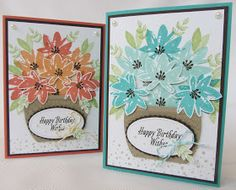 Hello Everyone,     For this week's Stamp Class I used the Avant Garden stamp set which is a Freebie during Sale a Bration, available u...