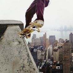 TERRIFYINGLY AWESOME! Video of skateboarders on Brooklyn rooftops is both mesmerizing and terrifying