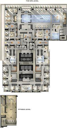 Four Seasons Hotel and Private Residences Toronto - Amenities Plan