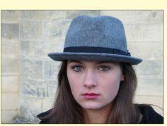 en stilig grå från Bronté Hats