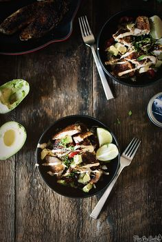 Blackened Tilapia Bowl by girlcarnivore #Salad #Tilapia