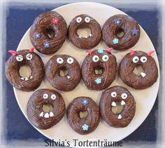 Silvia's Tortenträume: Donuts gruselig Monster Halloween