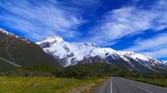 Mt. Sefton in Mt. Cook National Park
