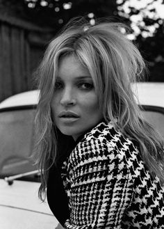 Kate Moss Plays Biker Chick in Ponystep Feature by Lasse Fløde