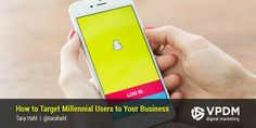 Snapchat is designed to allow users to take photos and videos that self destruct in seconds. Learn how to market to millennials using social media tools.  #marketing #snapchat #social #media #millennials #small #business #medium #SMB #SME #content #video #snaps #VPDM #internet #SEO #SEM
