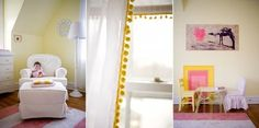 Buttery Yellow And Pink Nursery Design Inspiration   Kidsomania