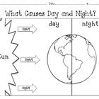Science Day and Night & the Sky (Look Up in the Sky/Hot Hot Sun) Kindergarten Science, Elementary Science, Science Classroom, Teaching Science, Science Education, Social Science, Montessori Elementary, Preschool, Science Resources
