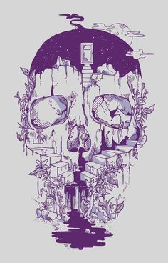 norman duenas - my obsession with skulls