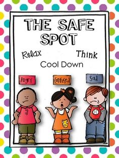 "SAFE SPOT POSTER {Freebie}...Follow for Free ""too-neat-not-to-keep"" teaching tools & other fun stuff :)"