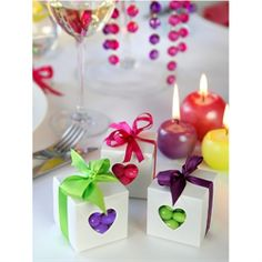Kärleksask <3 Wedding Favors, Party Favors, Wedding Gifts, Cubes, Wooden Hearts, Decoration, Classic Style, Candle Holders, Lime